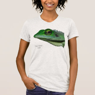 Green-crested Lizard T-shirt Ladies