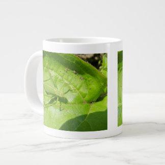 Green Cricket Camouflage Mug