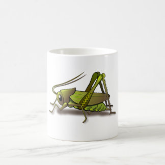 Green Cricket Insect Coffee Mug