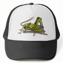 Green Cricket Insect Trucker Hat