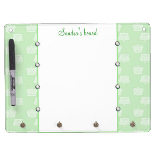 Green Crown Dry Erase Board