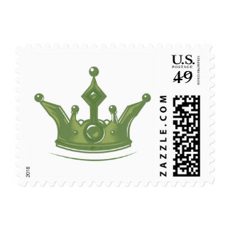 Green Crown Postage
