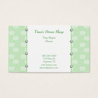 Green Crowns Business Card