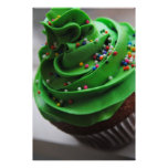 Green Cupcake Photograph Print