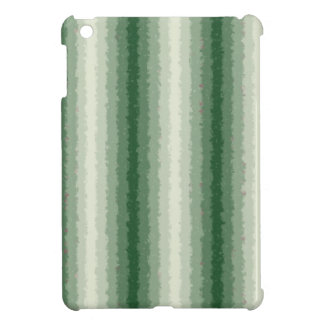 Green Curly Stripes iPad Mini Cases