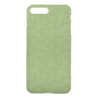 Green curved shape pattern iPhone 8 plus/7 plus case