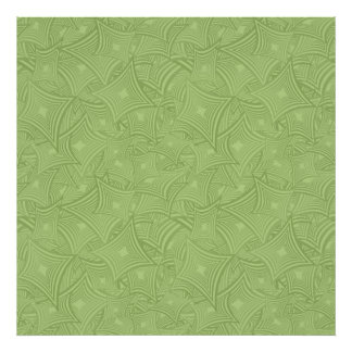 Green curved shape pattern photo