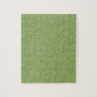 Green curved shape pattern jigsaw puzzles