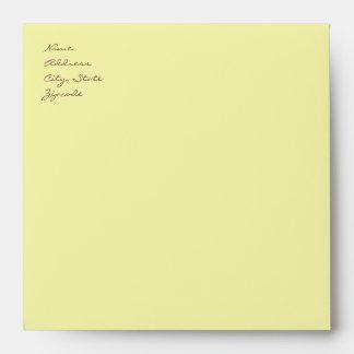 Green Custom Envelope