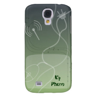 Green Cyberspace Web 2 0 Galaxy S4 Covers