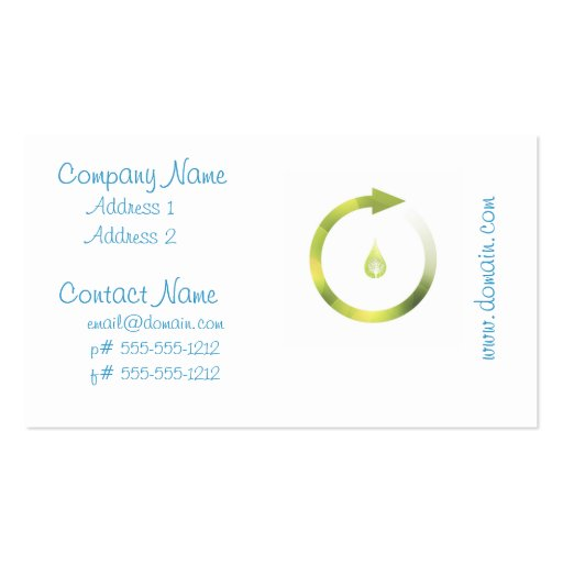 Green Cycle Business Card