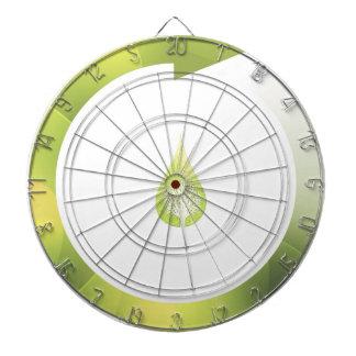 Green Cycle Dart Board