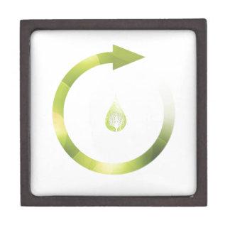 Green Cycle Premium Jewelry Box