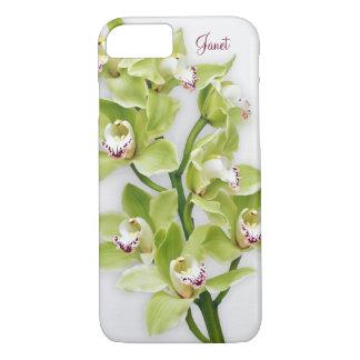 Green Cymbidium Orchid Floral iPhone 6 case