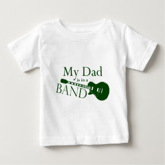 Green Dad is in a Band T Shirt
