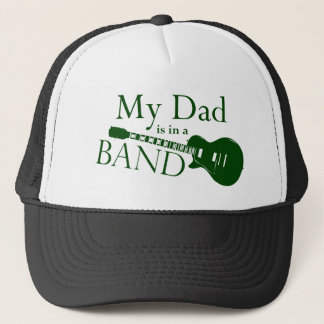 Green Dad is in a Band Trucker Hat