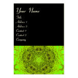 GREEN DAHLIA FLOWER PETALS LARGE BUSINESS CARDS (Pack OF 100)