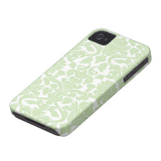 Green Damask iPhone 4 Case
