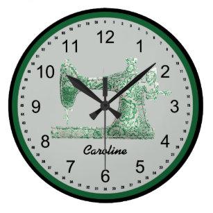 Sewing Room Wall Clocks   Zazzle