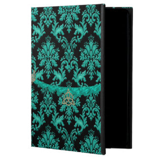 Green Damask With Trinity Knot iPad Air 2 Case
