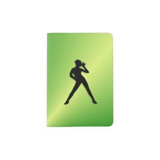 Green Dancer Passport Holder