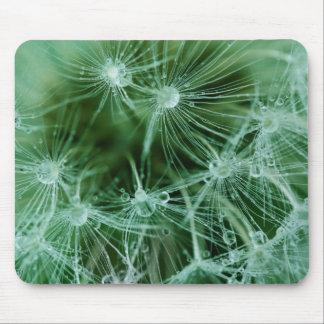 Green Dandelion Mouse Pad