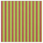 [ Thumbnail: Green, Dark Goldenrod & Brown Colored Pattern Fabric ]