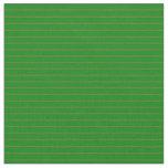 [ Thumbnail: Green & Dark Olive Green Pattern of Stripes Fabric ]