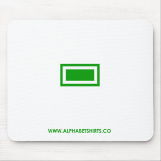 Green Dash Mouse Pad