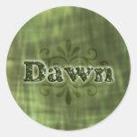 Green Dawn Sticker