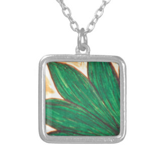 green day square pendant necklace