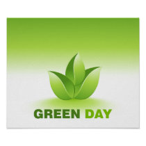 Green Day Poster