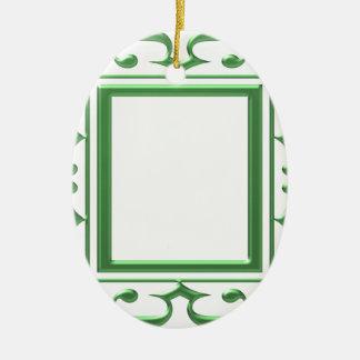 GREEN Decorative Border : Think multi uses Ornament
