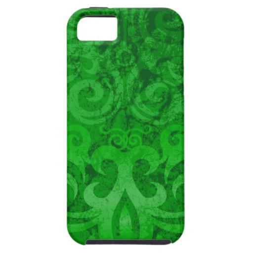 Green Decorative iPhone 5 Case