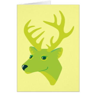 Green Deer Cards