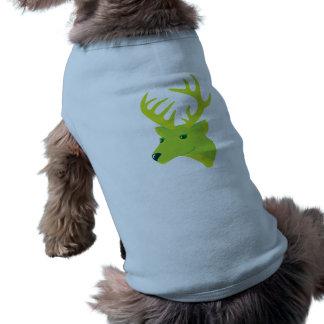 Green Deer Pet T Shirt