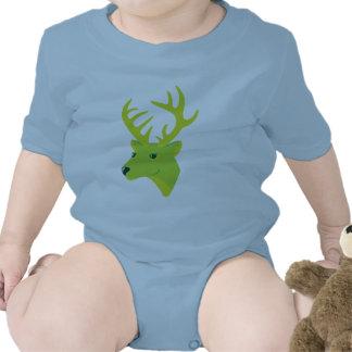 Green Deer Tee Shirts