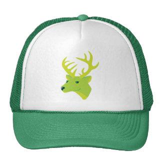 Green Deer Trucker Hat