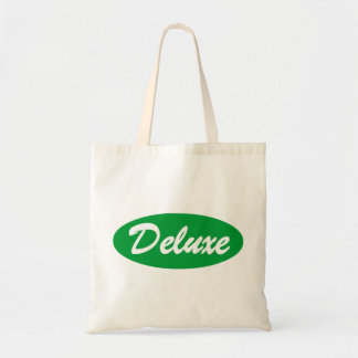 Green Deluxe Tote Bag