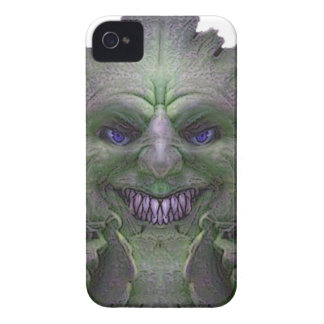 Green Demon Light Collection iPhone 4 Case-Mate Case