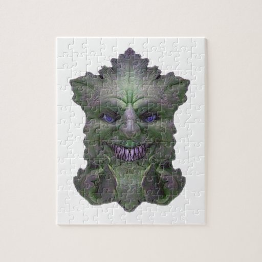 Green Demon Light Collection Puzzle