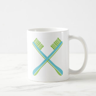 Green Dent Mugs