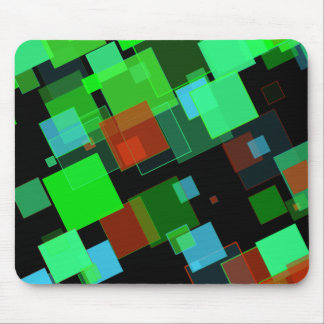 Green Depths Mouse Pad