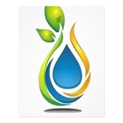 Green design customized letterhead