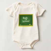 Green Desk Baby Bodysuit