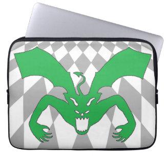 Green Devil Laptop Computer Sleeve