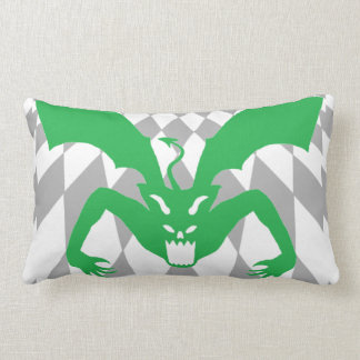 Green Devil Lumbar Pillow
