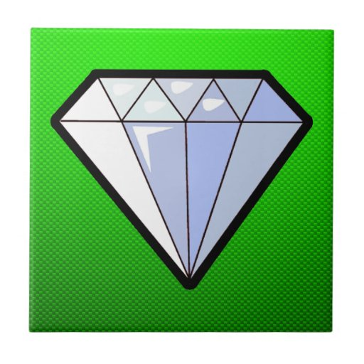 Green Diamond Ceramic Tiles