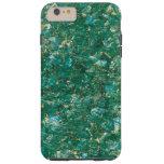 Green Diamond Marble iPhone 6 Plus Tough Case Tough iPhone 6 Plus Case
