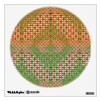 GREEN DIAMOND MODERN ART ABSTRACTS Sparkle PRINT Wall Sticker